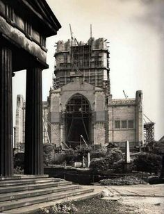 Liverpool cathedral 1937