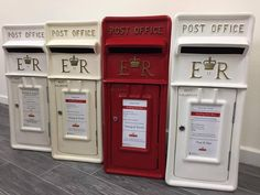 Every wedding needs a post box! Our event post boxes available to hire are unique, beautiful and make the receiving and taking care of those precious wedding cards and gifts Antique Mailbox, Wedding Post Box, Tale As Old As Time, Fairytale Weddings, Royal Mail, Filing Cabinet, Wedding Cards, Locker Storage, Red And White