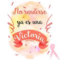 #diainternacionalcancerdemama #DiaContraelCancerdeMama no te rindas al #CancerDeMama y habrás ganado.