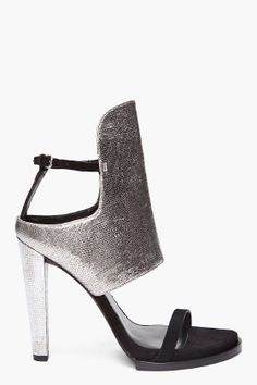 Alexander Wang Silver Liu Sandal Spring Summer 2014 #Shoes #Heels
