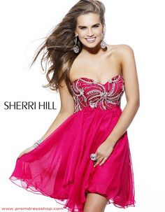 Sherri Hill Short 3846 at Prom Dress Shop