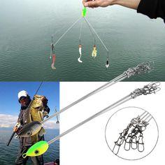 Double Hooks Fly Salmon Trout Fishing Soft Lures Tube CHEBURASHKA Tackle