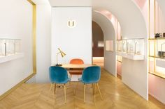 Nuun Jewels showroom by Brunoir and Java Architecture Paris  France