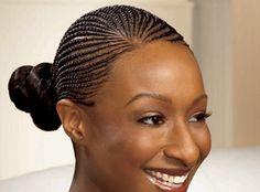 Cornrow Updos Black Women | Making the Braid | Essence.com