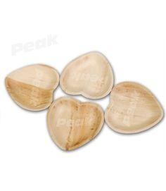Areca leaf plates - Heart shape