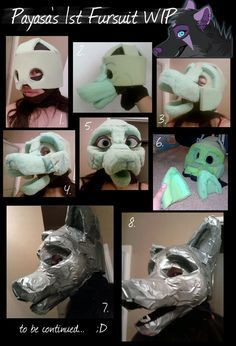 deviantART:Fursuit Feet WIP by *Payasa