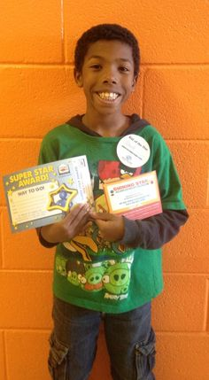 Our Kid of the Day is David! David enjoys playing games in our Computer Room!
