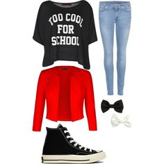 A fashion look from February 2015 featuring Boohoo t-shirts, 7 For All Mankind jeans and Converse sneakers. Browse and shop related looks.