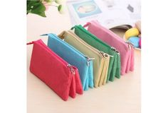 The Creative Function of Three Layer Large Zipper Bag, Canvas Simple Stationery Box, $9 USD #wish #onlineshopping #shoppingmadefun #fashion #gift #creativeliving #householdgoods #homedecor #home