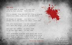 lyrics RED SNOW