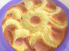 Gâteau léger à l'ananas WW, recette d'un bon gâteau léger,délicieusement parfumé, avec des tranches d'ananas fondantes, facile et simple à faire.