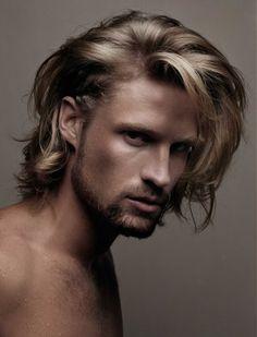 Long scruffy messy hair for men nelsonjsalon.com
