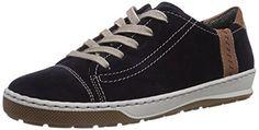 Jenny Dublin, Damen Sneakers, Blau (blau,marrone 05), EU 38 (UK 5) - http://on-line-kaufen.de/jenny/38-eu-5-uk-jenny-dublin-damen-sneakers-2