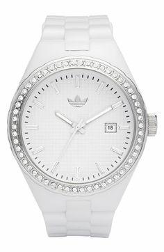 adidas Originals 'Cambridge' 44mm Crystal Accent Watch | Nordstrom