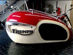 Triumph Motorcycle Gas Tank