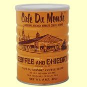 Cafe Du Monde coffee (use the can as a vase or to hold utensils?)
