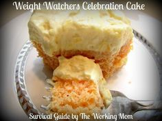WEIGHT WATCHERS DESSERT RECIPES WITH POINTS | Weight Watchers Celebration Cake Recipe