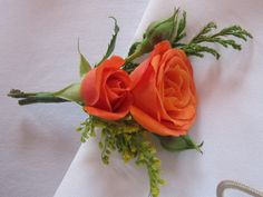 Nice boutonniere by WR WeddingsRosarito