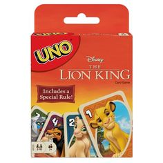 Uno Disney The Lion King Themed Card Game for Players Ages Kings Card Game, Lion King Series, Lion King Theme, King Card, Classic Card Games, Dance Games, Play Therapy Techniques, Action Cards, Singapore Math