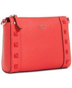 3e822dcef937 GUESS Kamryn Chain Strap Crossbody Handbags   Accessories - Macy s