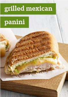 Grilled Mexican Panini – 10 minutes stand between you and this delicious sandwich recipe. Try it today!