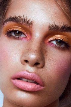5 Vegan + Cruelty-Free Beauty Products We Love For Spring/Summer. Informations About 5 Vegan + Cru Eyeshadow Looks, Eyeshadow Makeup, Makeup Brushes, Eyeliner, Hair Makeup, Eyeshadow Palette, Pink Makeup, Makeup Palette, Makeup Trends