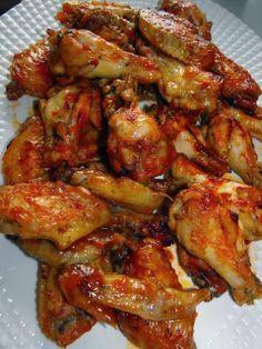 Alitas de pollo al horno tipo burguer king – Fırın yemekleri – Las recetas más prácticas y fáciles Pollo Chicken, Chicken Wings, Pollo Recipe, Good Food, Yummy Food, Cooking Recipes, Healthy Recipes, Chicken Wing Recipes, Mets