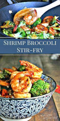 Forget Chinese take-out. Homemade Shrimp Broccoli Stir-Fry can be on your table in less than 30 minutes! | Life, Love, and Good Food
