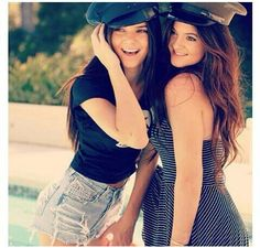 Kylie and KendallJenner