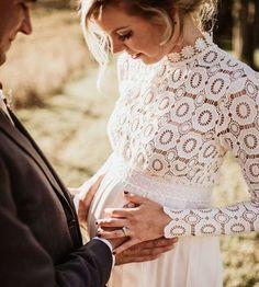 Vestidos de novia para embarazadas: Fotos de trajes nupciales (13/56) | Ellahoy