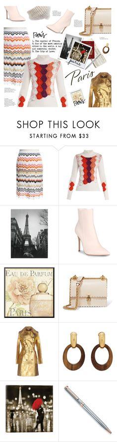"""""""Paris mon amour!"""" by sara-cdth ❤ liked on Polyvore featuring Missoni, Peter Pilotto, Gianvito Rossi, Fendi, Michael Kors, Goossens and Vince Camuto"""