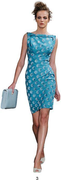 Beau Monde Models: blue dress @roressclothes closet ideas women fashion outfit clothing style
