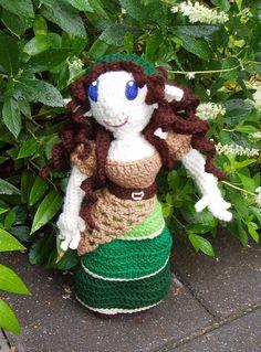 Rosie the Elf Maiden by kitsunecreations on Etsy