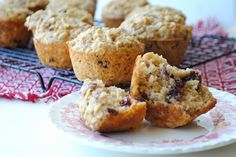 Apple-Oat Muffins with Cranberries & Pecans from Three Many Cooks. I liked the texture of these, which called for grated apples rather than applesauce.