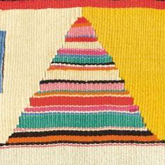Bauhaus tapestry detail