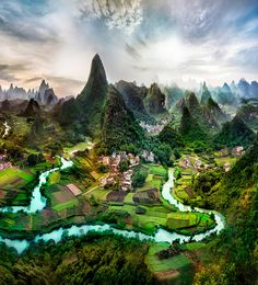 Cool Place Deep in the Guangxi – China