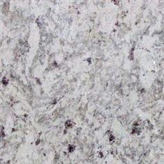 Master Bathroom  Moon White Granite Slab