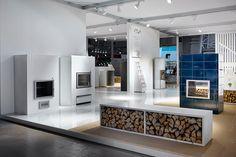 Tulikivi showroom at Habitare Exhibition.