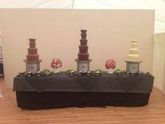Chocolate Fountain Syrup   Chocolate fountains! #surreygrad2013   University of Surrey Graduatio ...