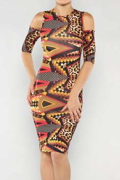 Tribal Midi Dress #wholesale #clothing #fashion #love #ootd #wiwt #shorts #skirts #dresses #tanks