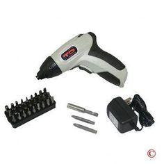 35 pc Cordless Electric Screwdriver Screw Driver & Bits