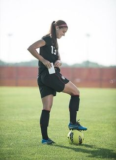 Even soccer star Alex Morgan can't put her pone down. #teamUSA #myjourney    Photo by Dave Mead