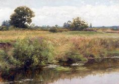 A Surrey LandscapeFrank Dicksee (1853–1928)National Museum Wales, National Museum Cardiff