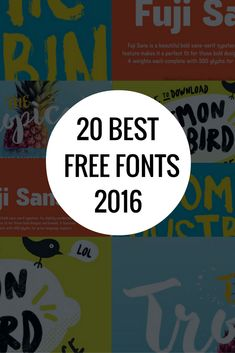 "Check out this @Behance project: ""20 Best Free Fonts 2016"" https://www.behance.net/gallery/42130055/20-Best-Free-Fonts-2016"