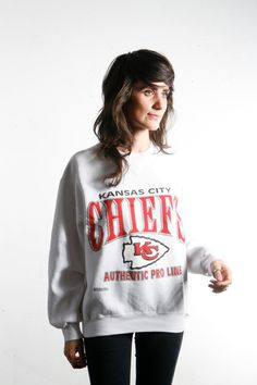 vintage NFL kansas city chiefs sweatshirt