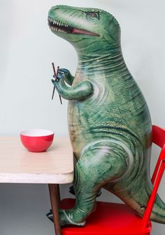 The Rex is History Inflatable | Mod Retro Vintage Decor Accessories | ModCloth.com
