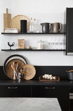 Home Decor Bohemian Thoughtful Details that Will Help Design Your Dream Kitchen - Wit & Delight.Home Decor Bohemian Thoughtful Details that Will Help Design Your Dream Kitchen - Wit & Delight Best Kitchen Designs, Modern Kitchen Design, Kitchen Ideas, Modern Design, Farmhouse Kitchen Island, Kitchen Dining, Tan Kitchen, Black Kitchen Decor, Kitchen Corner