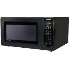 #2: Panasonic NN-H765BF Full-Size 1.6-Cubic-Feet 1250-Watt Microwave Oven, Black