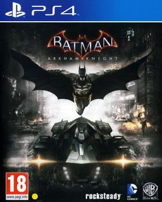 Worth for Batman Arkham Knight - Playstation 4 Video Game. For this estimated valuation the Batman Arkham Knight - Playstation 4 Video Game must be similar or match the information. Batman Arkham Knight Pc, Batman Arkham City, Batman Arkham Origins, Gotham City, Jeux Xbox One, Xbox One Games, Ps4 Games, Playstation Games, Dc Comics Games