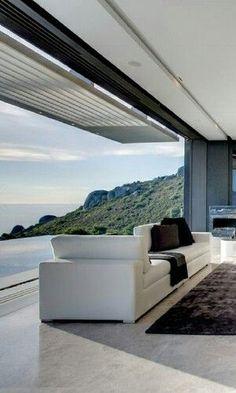 Amazing indoor/outdoor room with a view